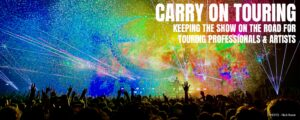 Carry on Touring banner